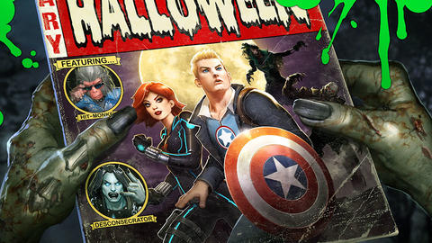 Image for Celebrate Halloween with the Heroes of 'Marvel Avengers Academy'