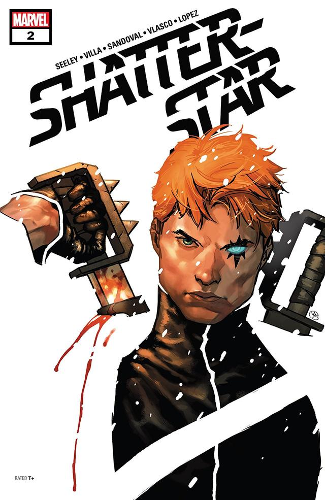 Shatterstar #2 cover by Yasmine Putri