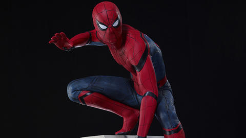 Image for Creating Section 9's 'Spider-Man: Homecoming' Life-Size Statue