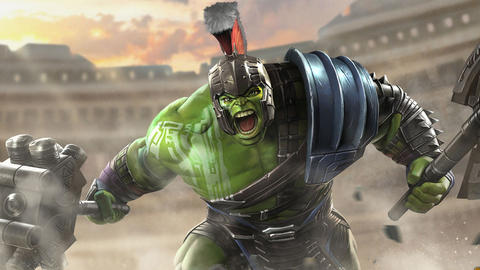 Image for Entering Marvel Contest of Champions: Hulk (Ragnarok)