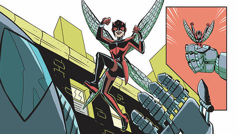 Image for Unstoppable Wasp: Meeting of the Minds