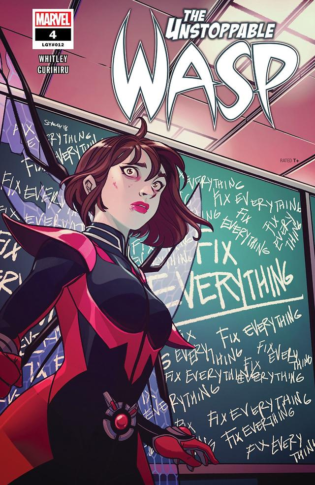 Exploring Mental Illness with 'Unstoppable Wasp' | News | Marvel