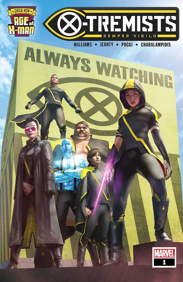 AGE OF X-MAN: X-TREMISTS #1