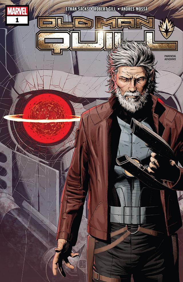 OLD MAN QUILL #1