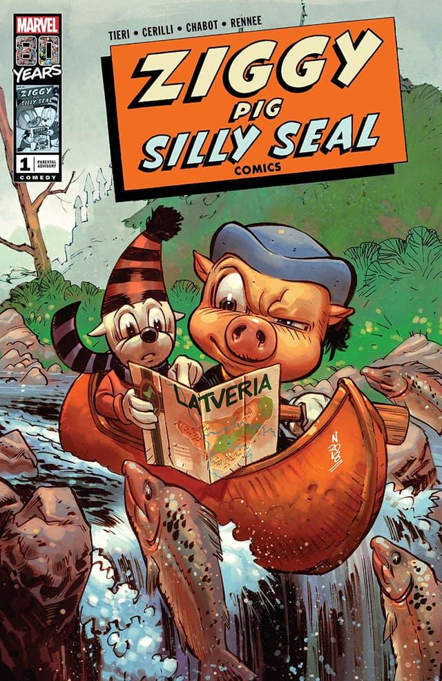 ZIGGY PIG - SILLY SEAL COMICS #1