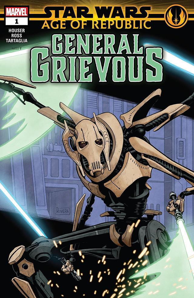 STAR WARS: AGE OF REPUBLIC – GENERAL GRIEVOUS #1