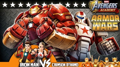 Image for An Armored Trio Wages War on Avengers Academy