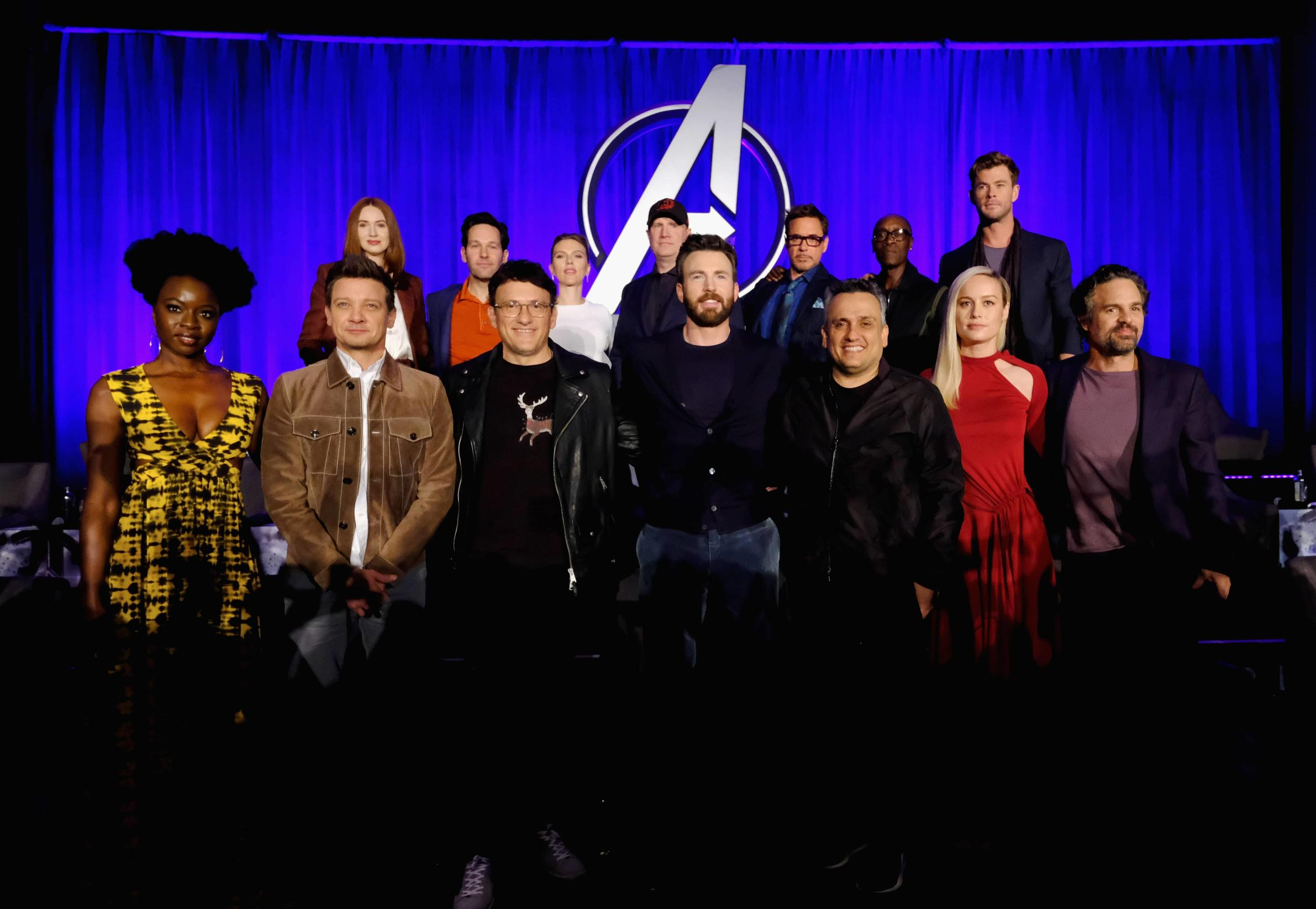 Avengers: Endgame global press conference