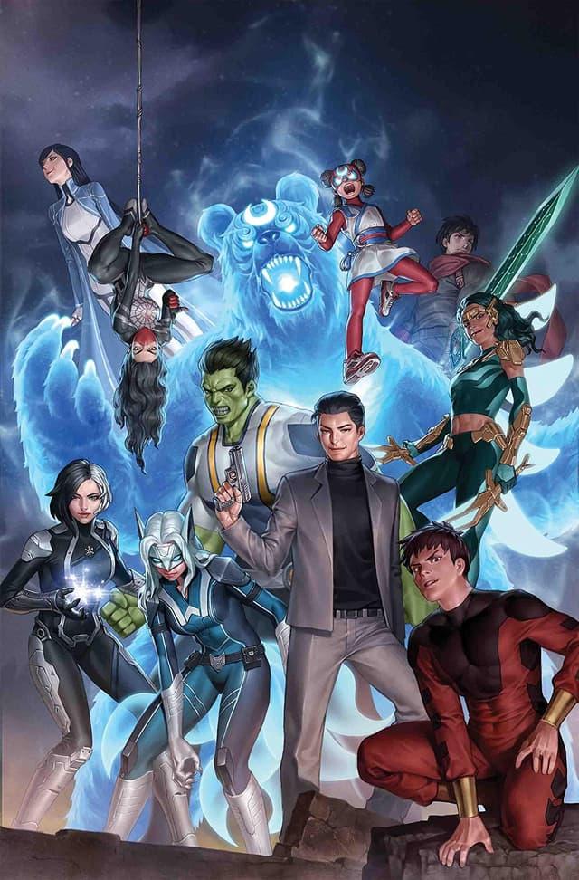 Agents Of Atlas (2019-) #1 (of 5)