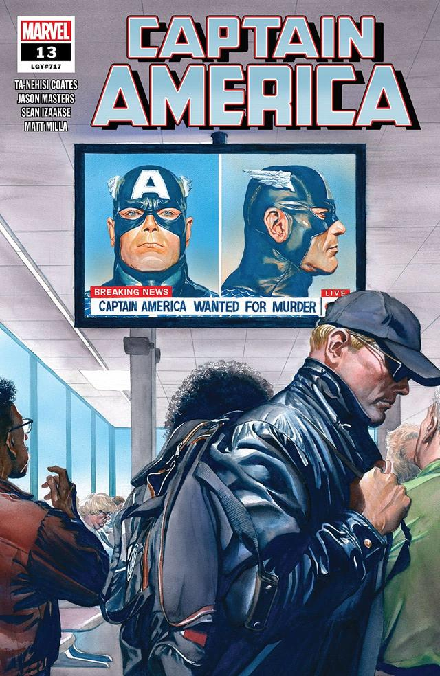 If the terrorist group sounds familiar that's because they, as Sharon notes in the issue, have been a thorn in America's side for a while now. The group first showed their ugliness in CAPTAIN AMERICA #335 in 1987 during the legendary Mark Gruenwald's decade-long run on the book.  This was during another era when Rogers gave up the Captain America identity, this time because he did not agree with The Commision's plan for him. Instead, they gave the gear to John Walker who worked with Lemar Hoskins as his Buc