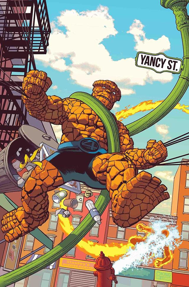FANTASTIC FOUR: 4 YANCY STREET #1 cover by Greg Smallwood