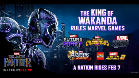 Image for The King of Wakanda Rules Marvel Games