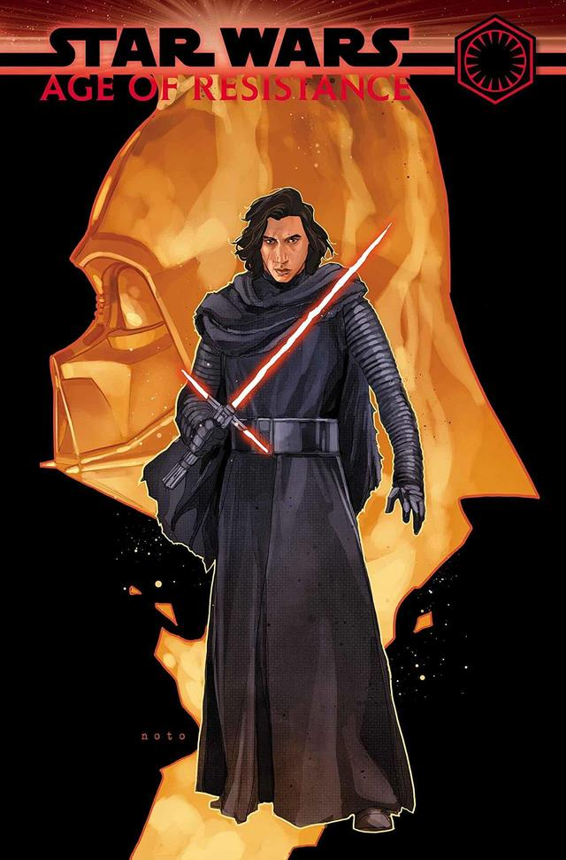 STAR WARS: AGE OF RESISTANCE - KYLO REN #1 cover by Phil Noto