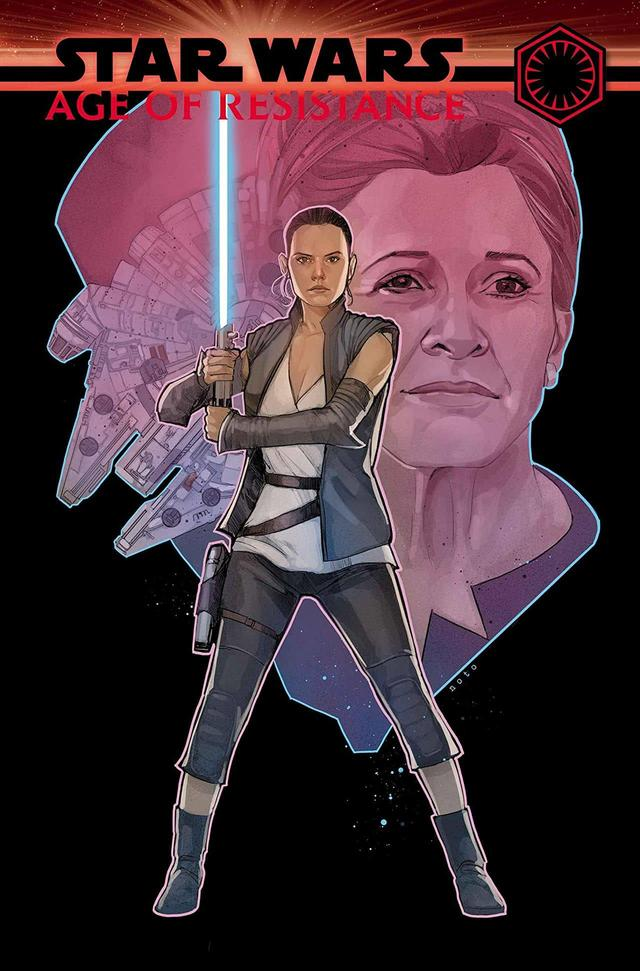 STAR WARS: AGE OF RESISTANCE - REY #1 cover by Phil Noto