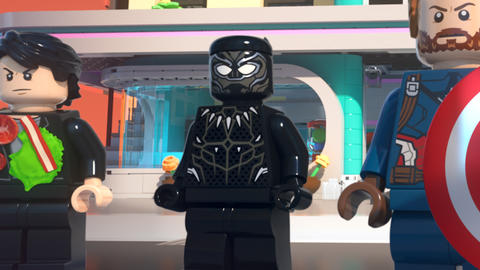Image for Watch the First 'LEGO Marvel Super Heroes – Black Panther: Trouble in Wakanda' Short