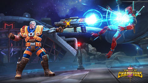 Image for Entering Marvel Contest of Champions: Cable