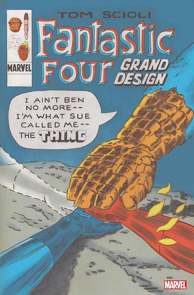 FANTASTIC FOUR: GRAND DESIGN #1 cover by Tom Scioli