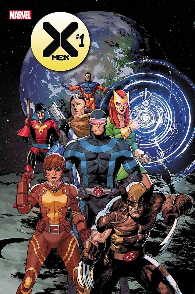 X-MEN #1 cover by Leinil Francis Yu