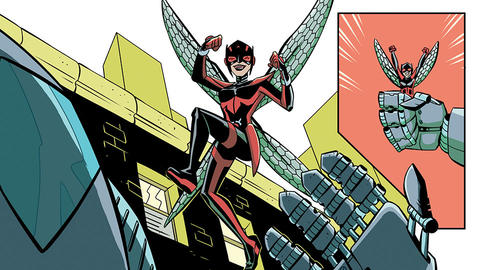 Image for Take Flight with The Unstoppable Wasp