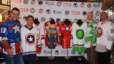 Image for Marvel Joins Forces with the ECHL