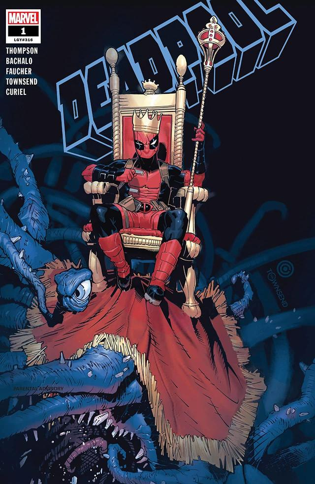 DEADPOOL #1 cover by Chris Bachalo