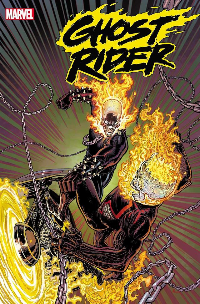 GHOST RIDER #2 cover by Aaron Kuder