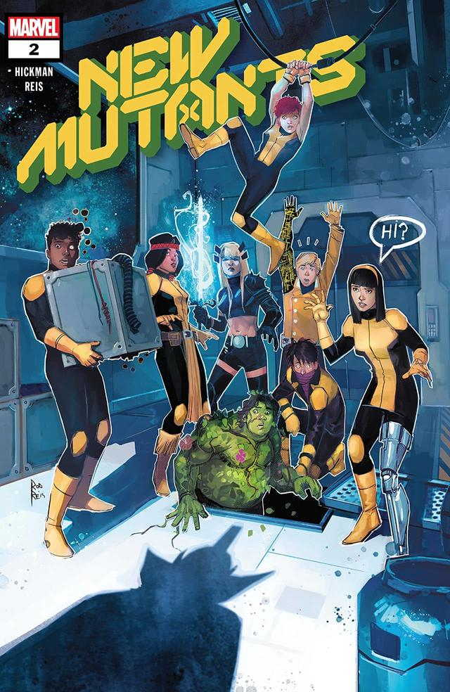 NEW MUTANTS #2 cover by Rod Reis