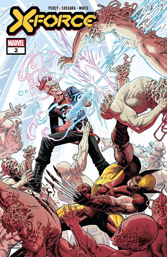 X-FORCE #2 cover by Dustin Weaver