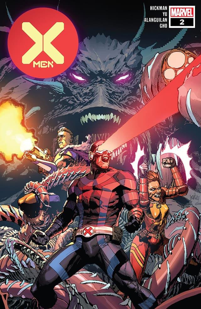 X-MEN #2 cover by Leinil Francis Yu