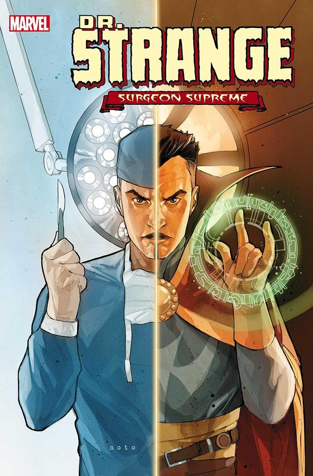DOCTOR STRANGE: SURGEON SUPREME #1 cover by Phil Noto