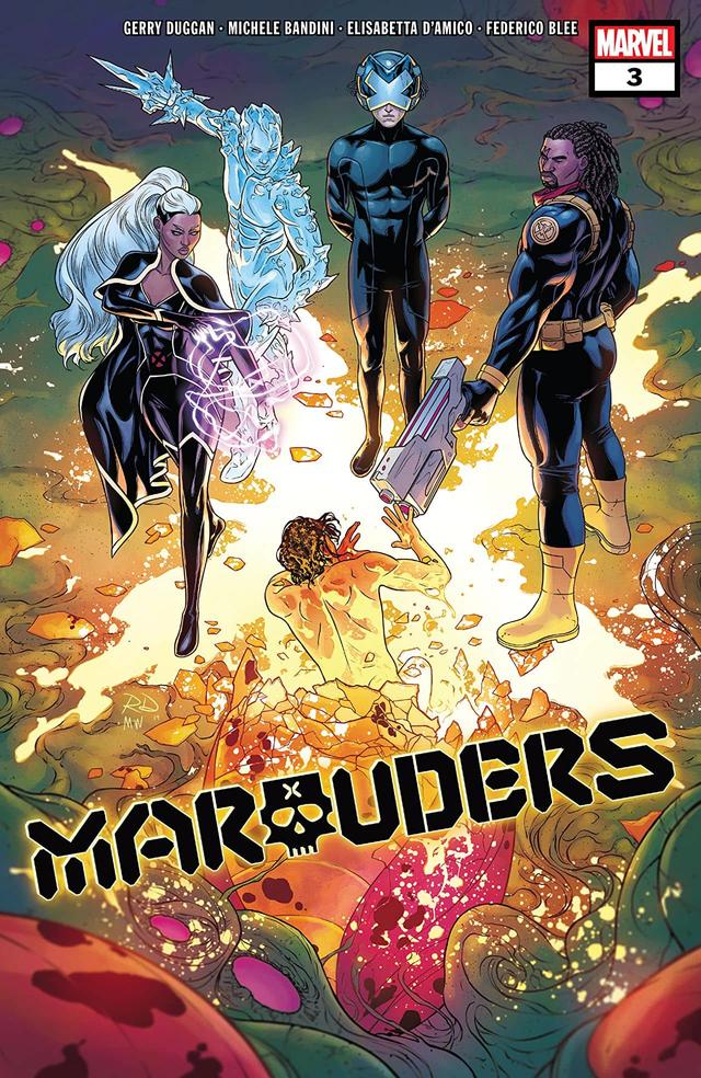 MARAUDERS #3 cover by Russell Dauterman