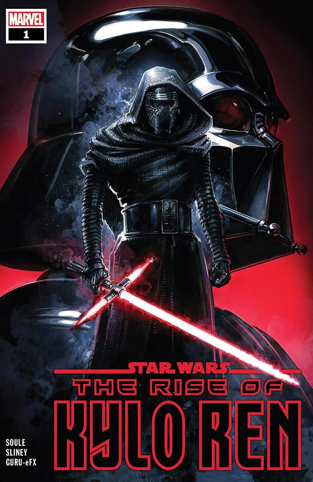 STAR WARS: THE RISE OF KYLO REN #1 cover by Clayton Crain