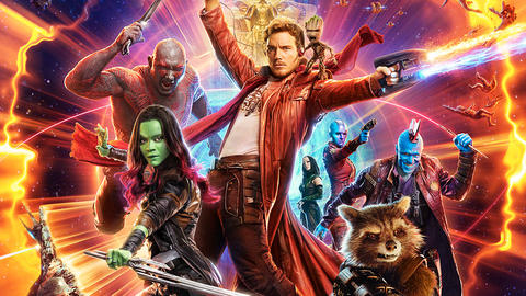 Image for Bring Home the Biggest Intergalactic Film of the Year Marvel Studios' 'Guardians of the Galaxy Vol. 2'