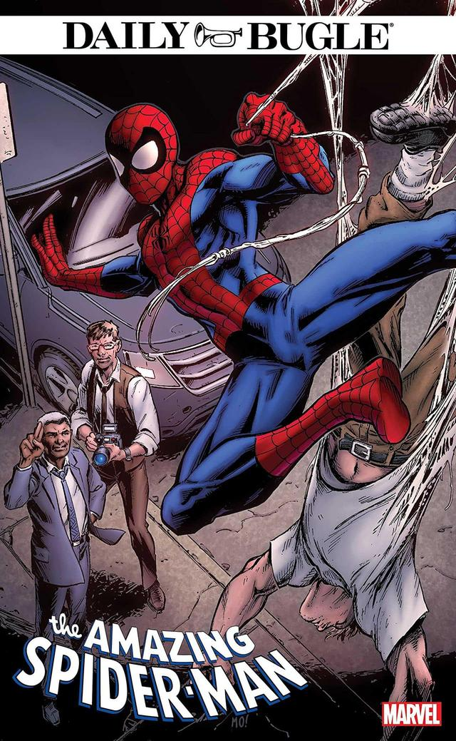 AMAZING SPIDER-MAN: DAILY BUGLE #1 cover by Mark Bagley