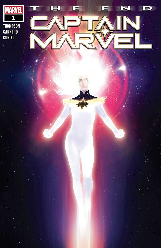 CAPTAIN MARVEL: THE END #1 cover by Rahzzah