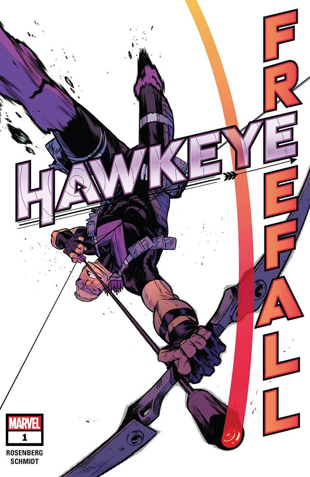 HAWKEYE: FREEFALL #1 cover by Kim Jacinto
