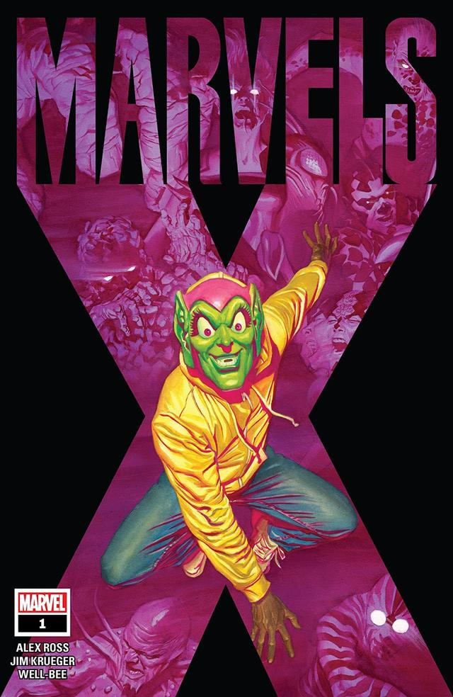 MARVELS X #1 cover by Alex Ross