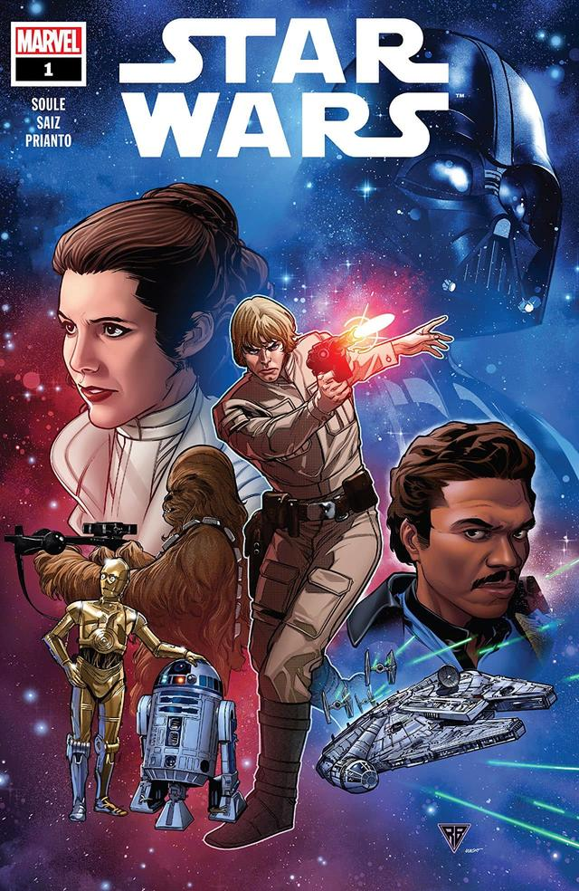 STAR WARS #1 cover by R.B. Silva