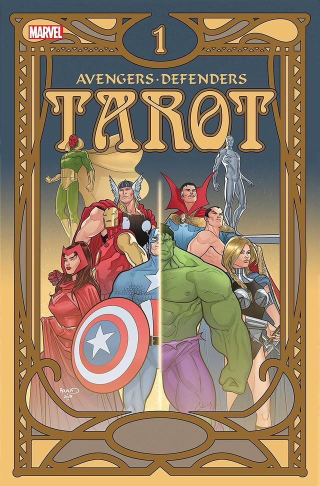 TAROT #1 cover by Paul Renaud
