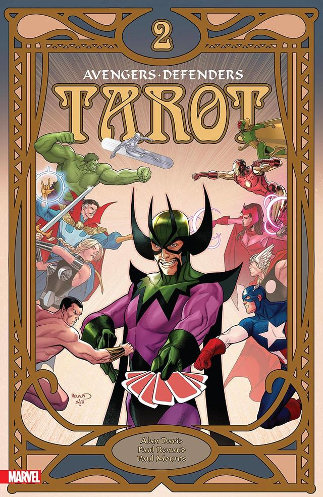 TAROT #2 cover by Paul Renaud