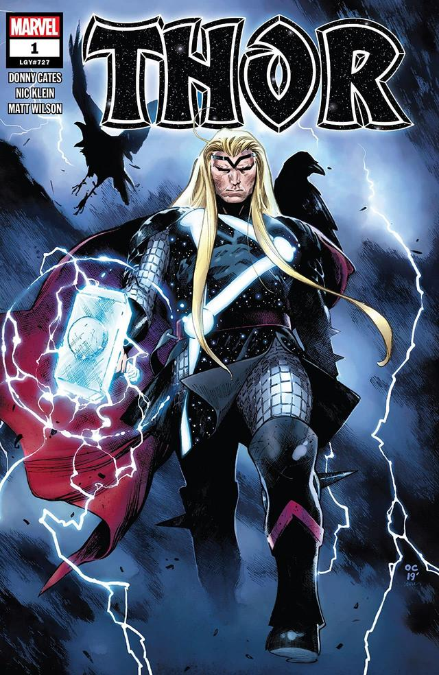 THOR #1 cover by Olivier Coipel