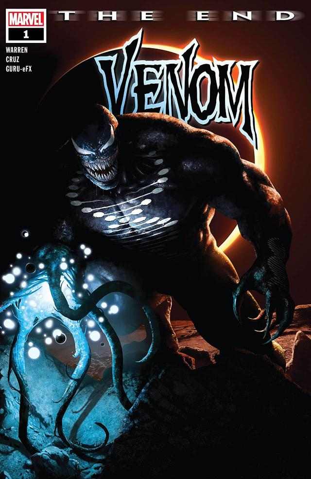 VENOM: THE END #1 cover by Rahzzah
