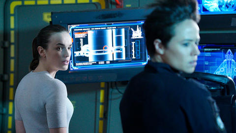 Image for Elizabeth Henstridge Returns to This Week in Marvel's Agents of S.H.I.E.L.D.
