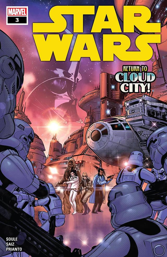 The newest issue, STAR WARS #3, hits stands next Wednesday, February 26!