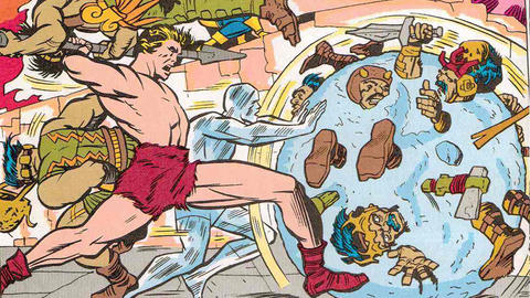 Image for Kirby 100: Ka-Zar & The Savage Land