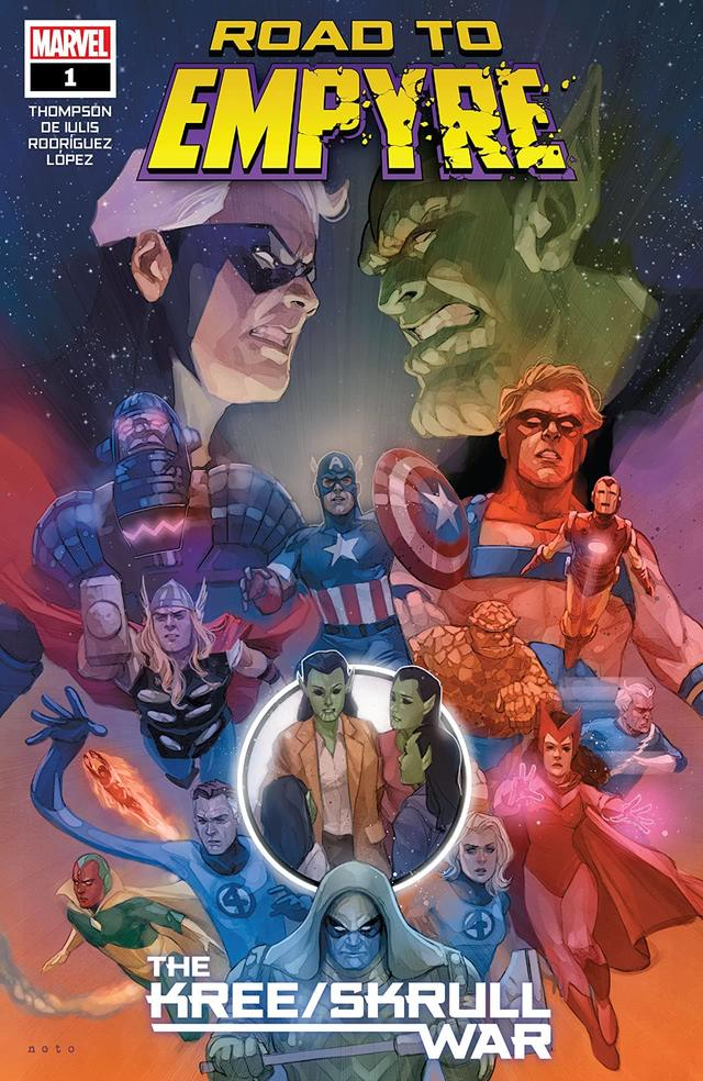 ROAD TO EMPYRE: THE KREE-SKRULL WAR #1