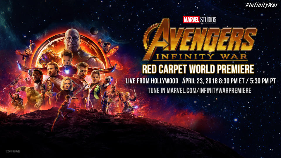 Image for 'Avengers: Infinity War' Red Carpet World Premiere – April 23, 2018