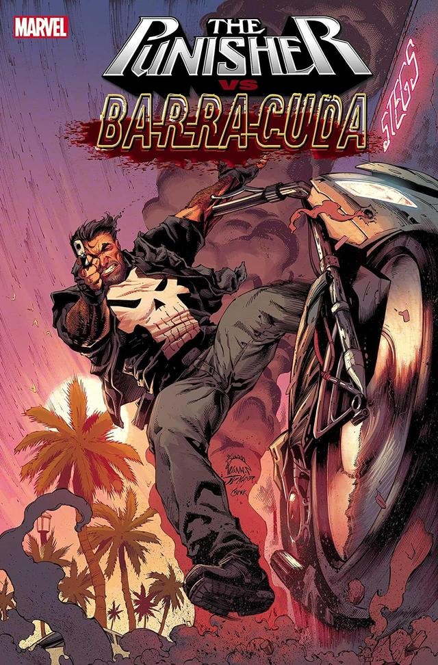 THE PUNISHER VS. BARRACUDA #1 cover by Ryan Stegman