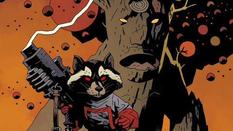 Image for Guarding the Galaxy: Rocket Raccoon & Groot