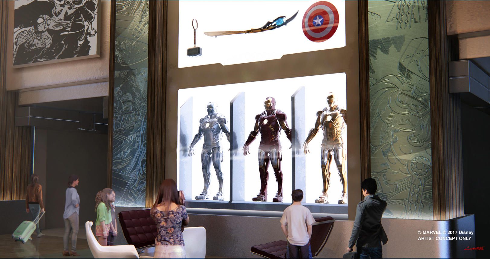 Image for D23: Marvel Attractions and Experiences Heading to Epcot, Disney's New York Hotel and Disney California Adventure Park